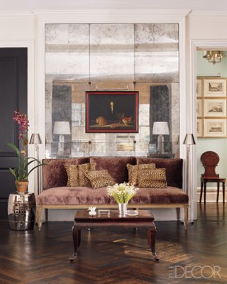 Idea Exchange Mirrored Walls, Wall Mirror Panels For Living Room