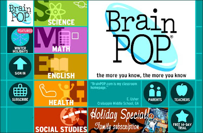 BrainPOP: Serious Games For Animated Education