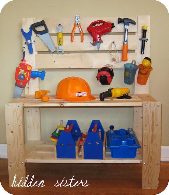 A Children's Tool Bench