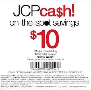 picture about Blockbuster Printable Coupon titled JCP Income Coupon codes (Legitimate until Oct) - Printable Coupon Deppot