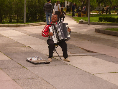The Yambol Accordion Player