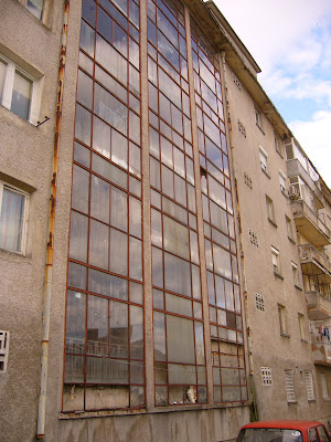 Glassed Apartment Stairway In Yambol