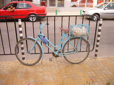 A Classic Bicycle In Yambol