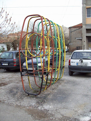 Yambol Playground Apparatus Or A Car Park?