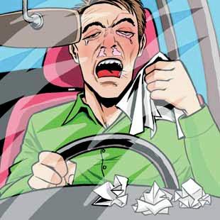 Ciro Rod: Entre o espirro e a lágrima - alergia e depressão