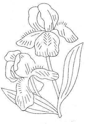 lava iris 400 coloring pages | Stitchy Britches: Stop and stitch the roses