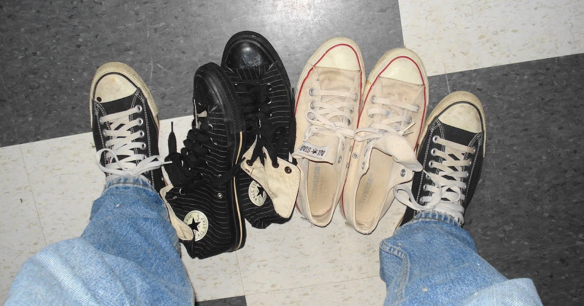 2ab7883a1d2 Potter s Blog  what do your Converse Chuck Taylor s say about you