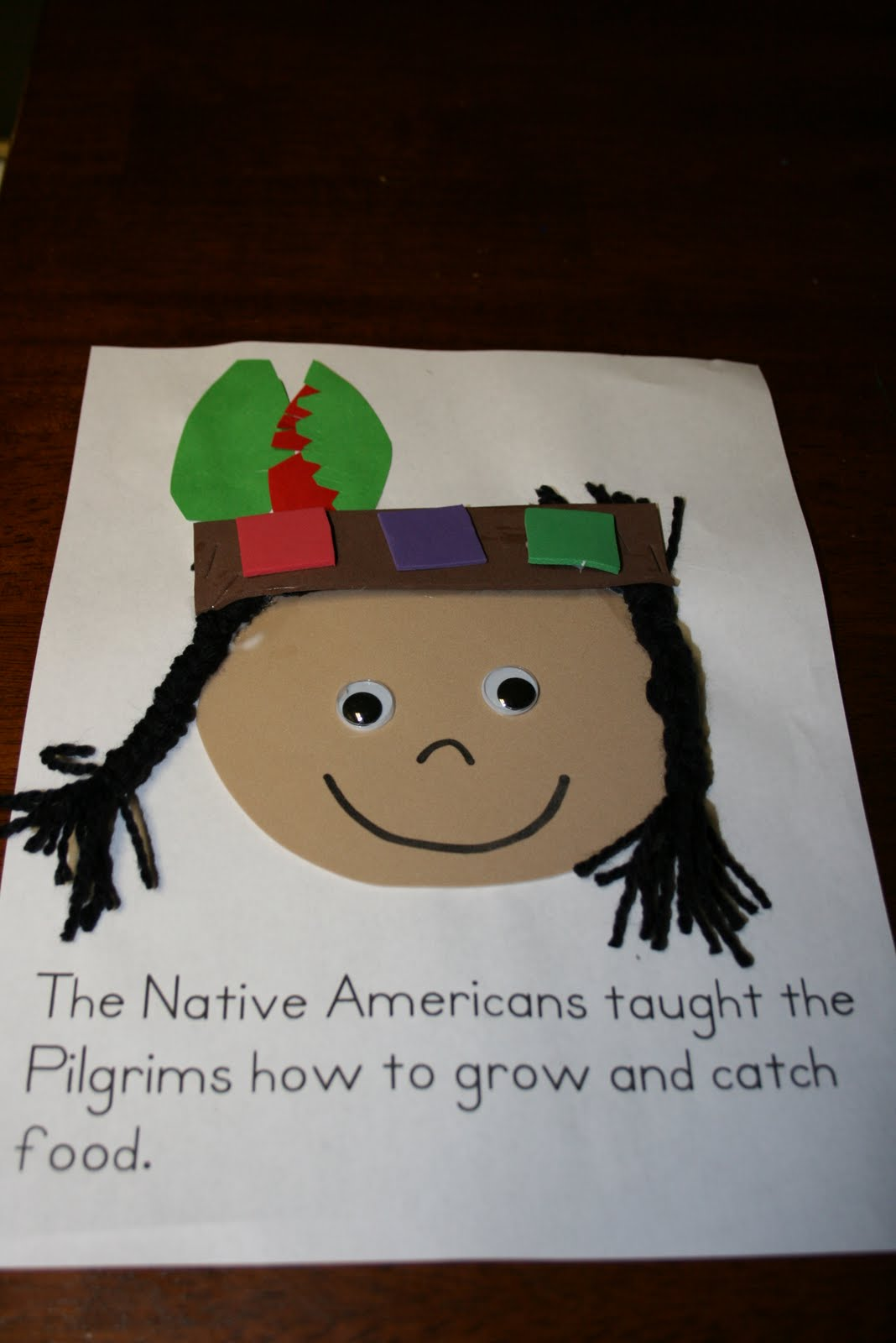 preschool native american theme musings of me the tale of thanskgiving