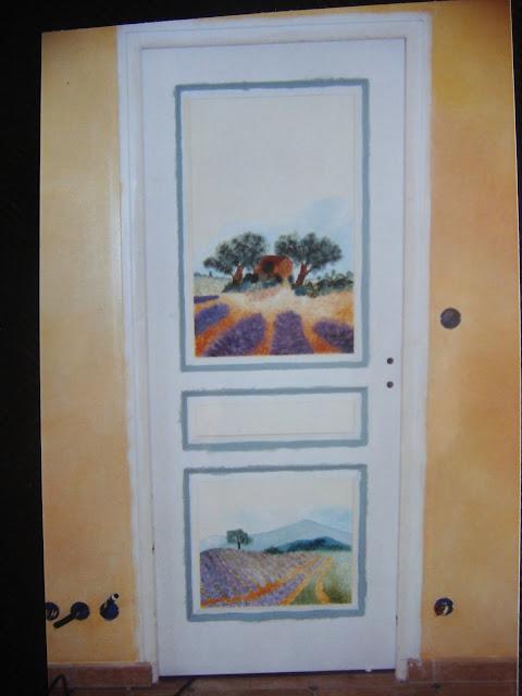 dans l 39 art du temps d coration d 39 int rieur le savoir faire au f minin peinture sur porte. Black Bedroom Furniture Sets. Home Design Ideas