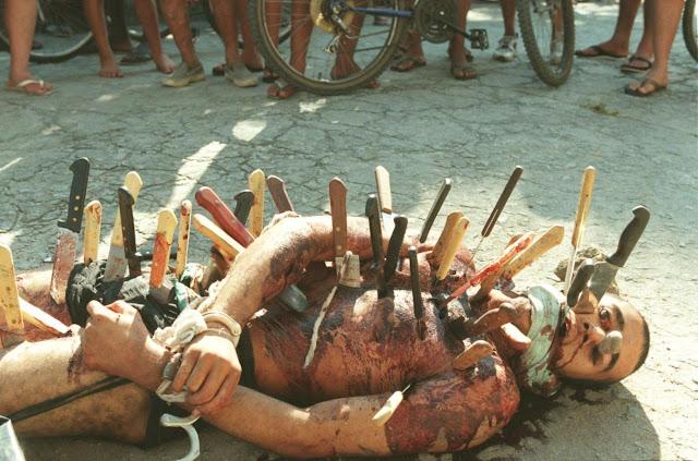 Estrupador traficante morto a facadas