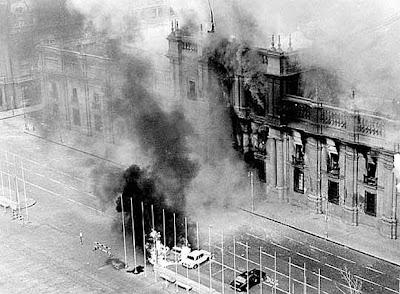 Golpe de Estado en Chile, 11 de septiembre de 1973