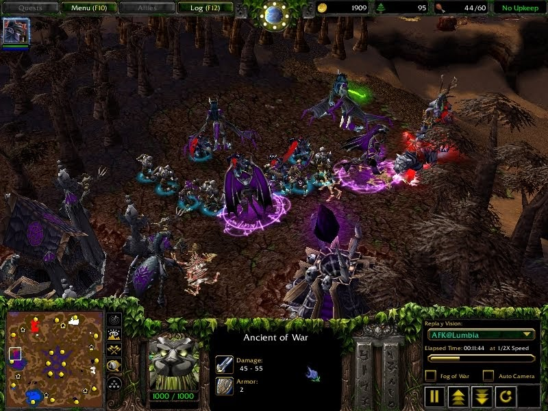 Imbacore Warcraft 3 The Frozen Throne 1 24b List Of Aspects To