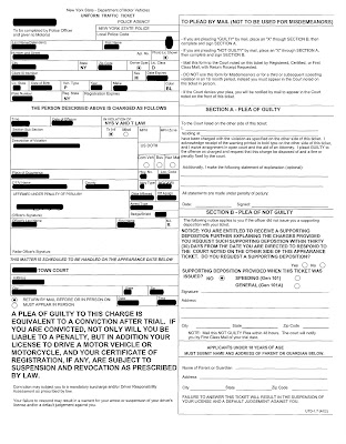 Traffic Ticket Nyc >> Understanding Your Nys Traffic Ticket Annotated Traffic