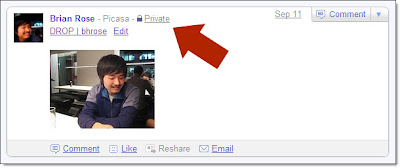 Share Private Picasa Web Albums Privately with Buzz Followers