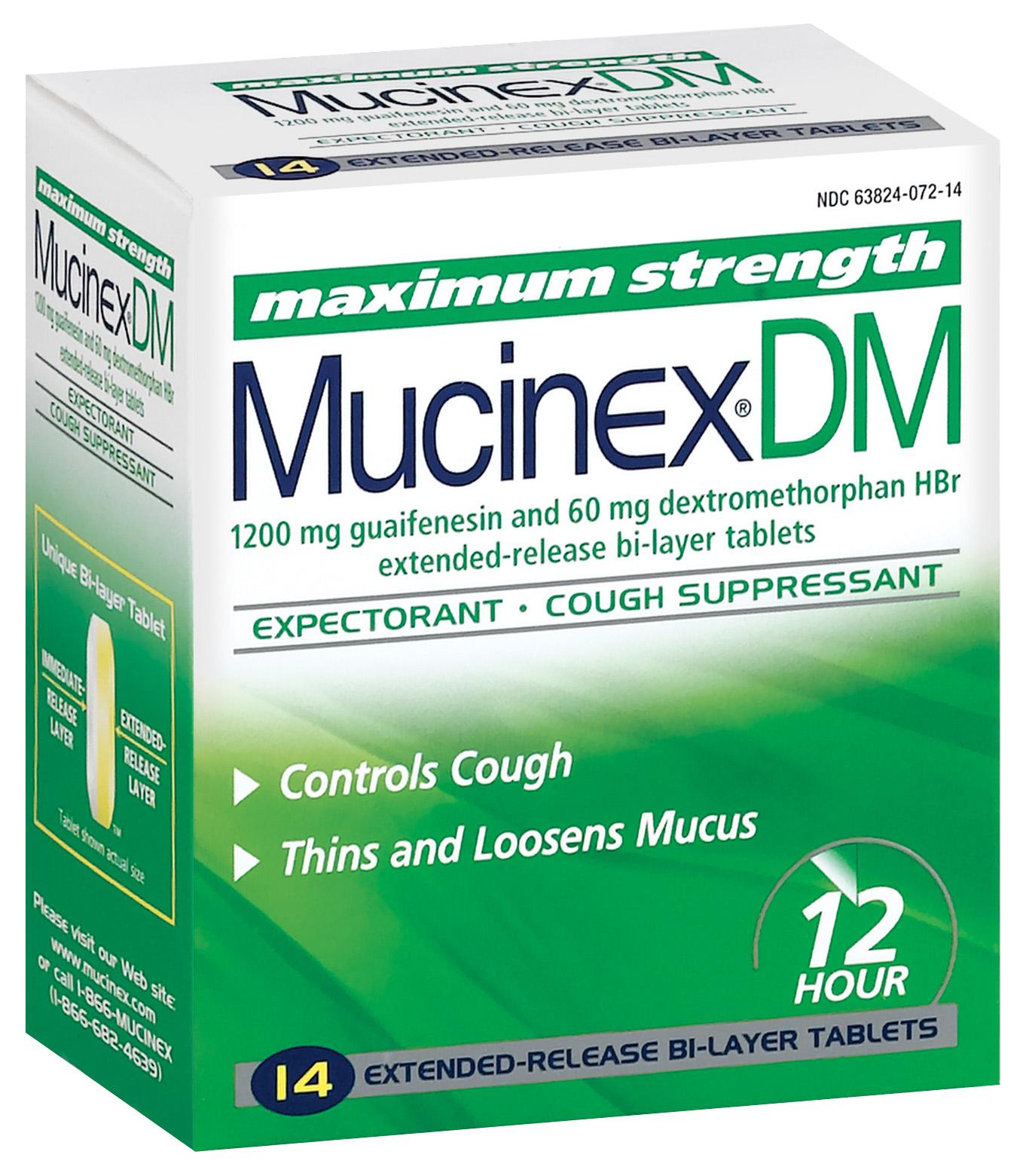 Mucinex Dm Pill