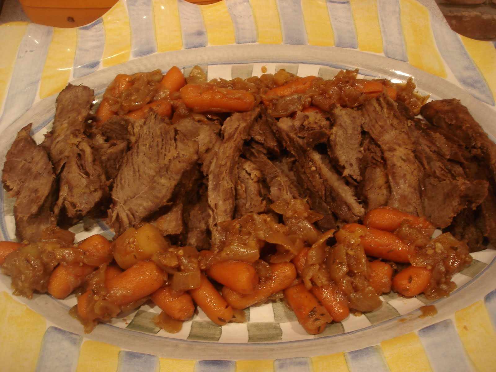 ... In Brooklyn: Sasha's Kitchen: Holiday Brisket for the Jewish New Year