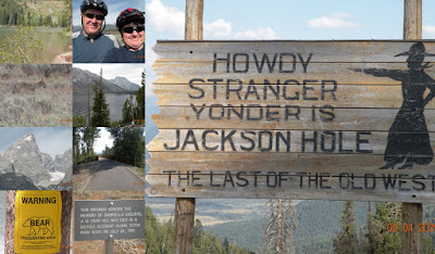 Randy and Susan Landon: Jackson Hole, Wyoming LAbor Day Week