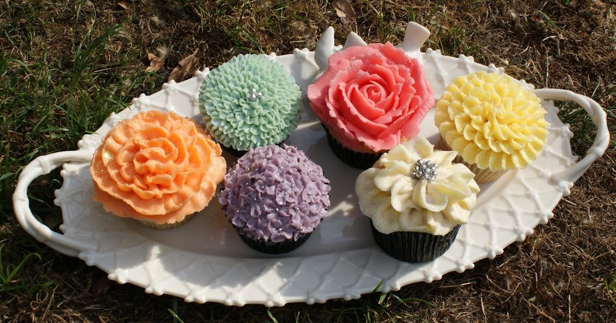 how to make cupcake flowers