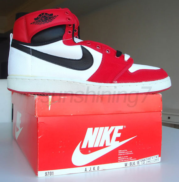 best service a600a f0c47 The Nike Air Jordan 1 - AJKO originally came out in 1985 as an affordable  version of the flagship Air Jordan 1. The AJKO featured a mainly canvas  upper, ...