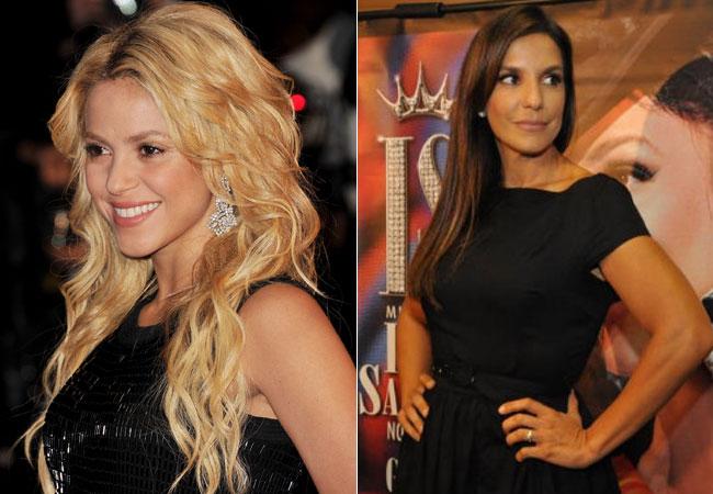 736843795 Shakira poderá subir no trio de Ivete Sangalo no Carnaval de Salvador 2011.  Segundo a assessoria de imprensa da cantora baiana, o dueto ainda não está  ...