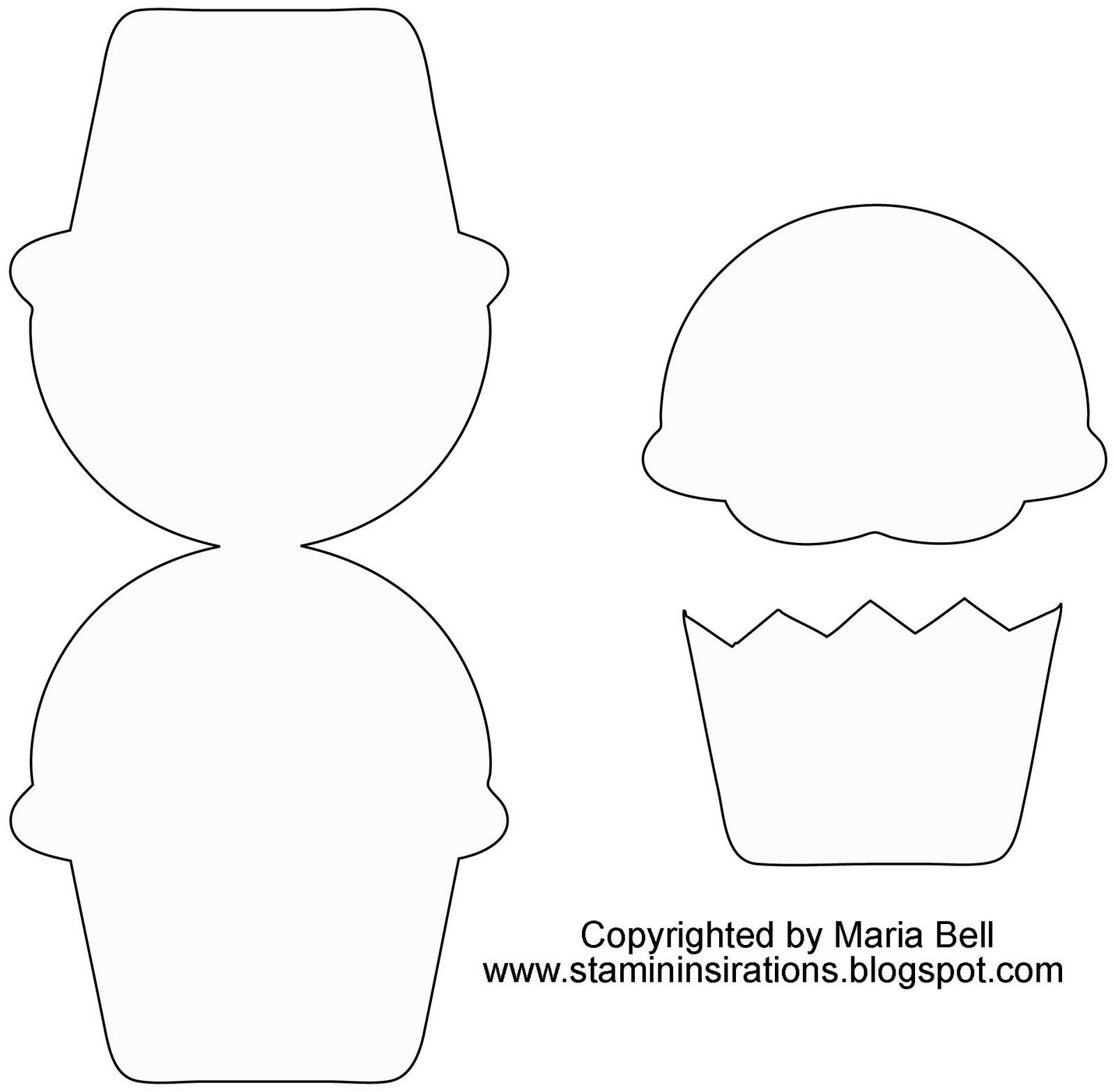 Imprimibles Para Invitaciones Con Forma De Cupcakes Ideas