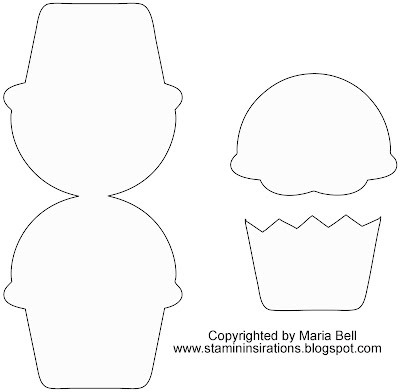 Imprimibles para invitaciones con forma de cupcakes for Giant cupcake liner template
