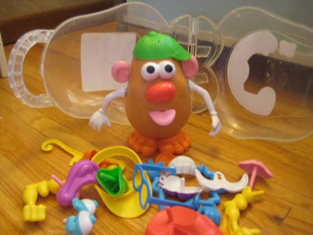 Id Mommy Idmommy Project Recycled Potato Head Parts Bag
