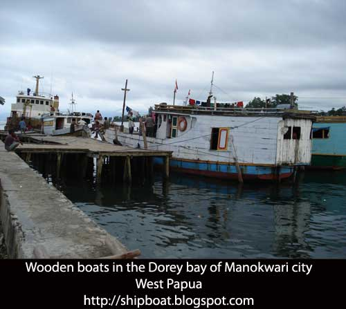Tourist attraction in West Papua