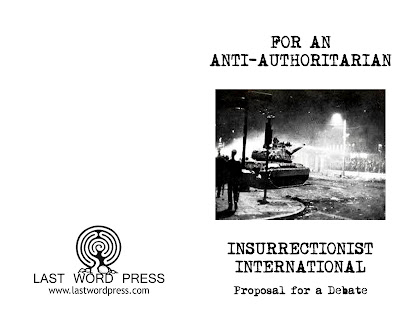 Image for For An Anti-Authoritarian Insurrectionist International: Proposal for a Debate by n/a