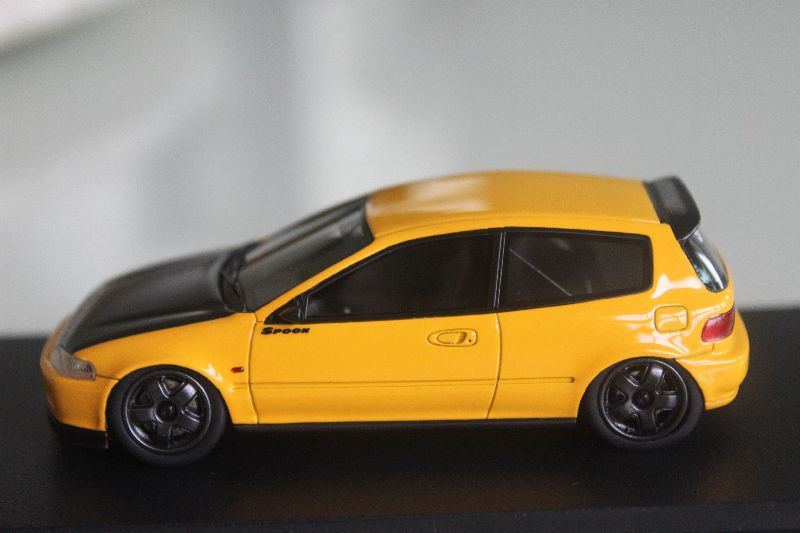 Hpi 1 43 Honda Civic Eg Spoon Gr A Racing Yellow