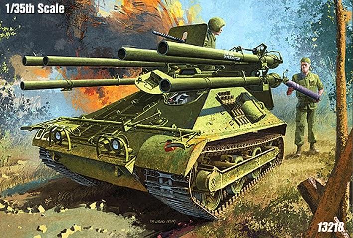 Scale Model News Academy Ontos Tank Killer Kit To 1 35 Scale