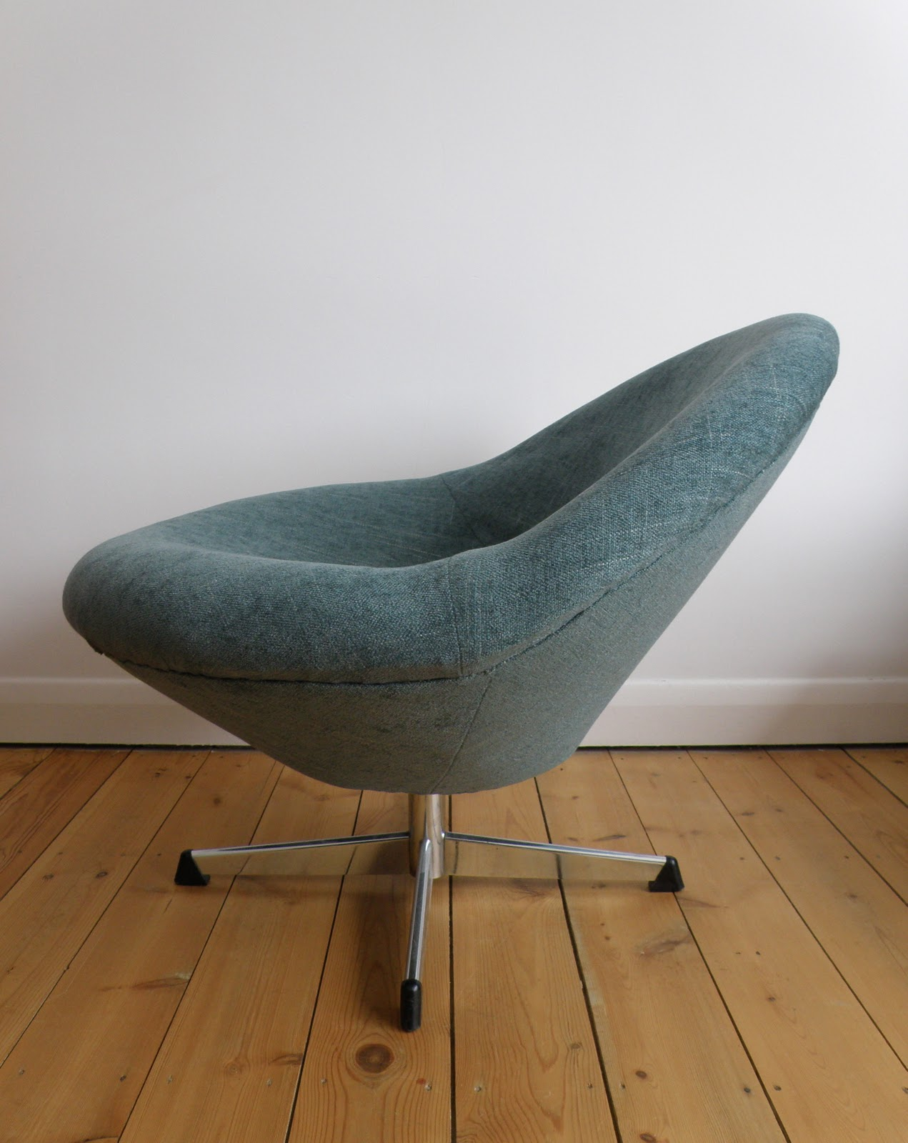 vernon panton chair how to clean cushions antikmodern the shop reupholstered sixties bucket