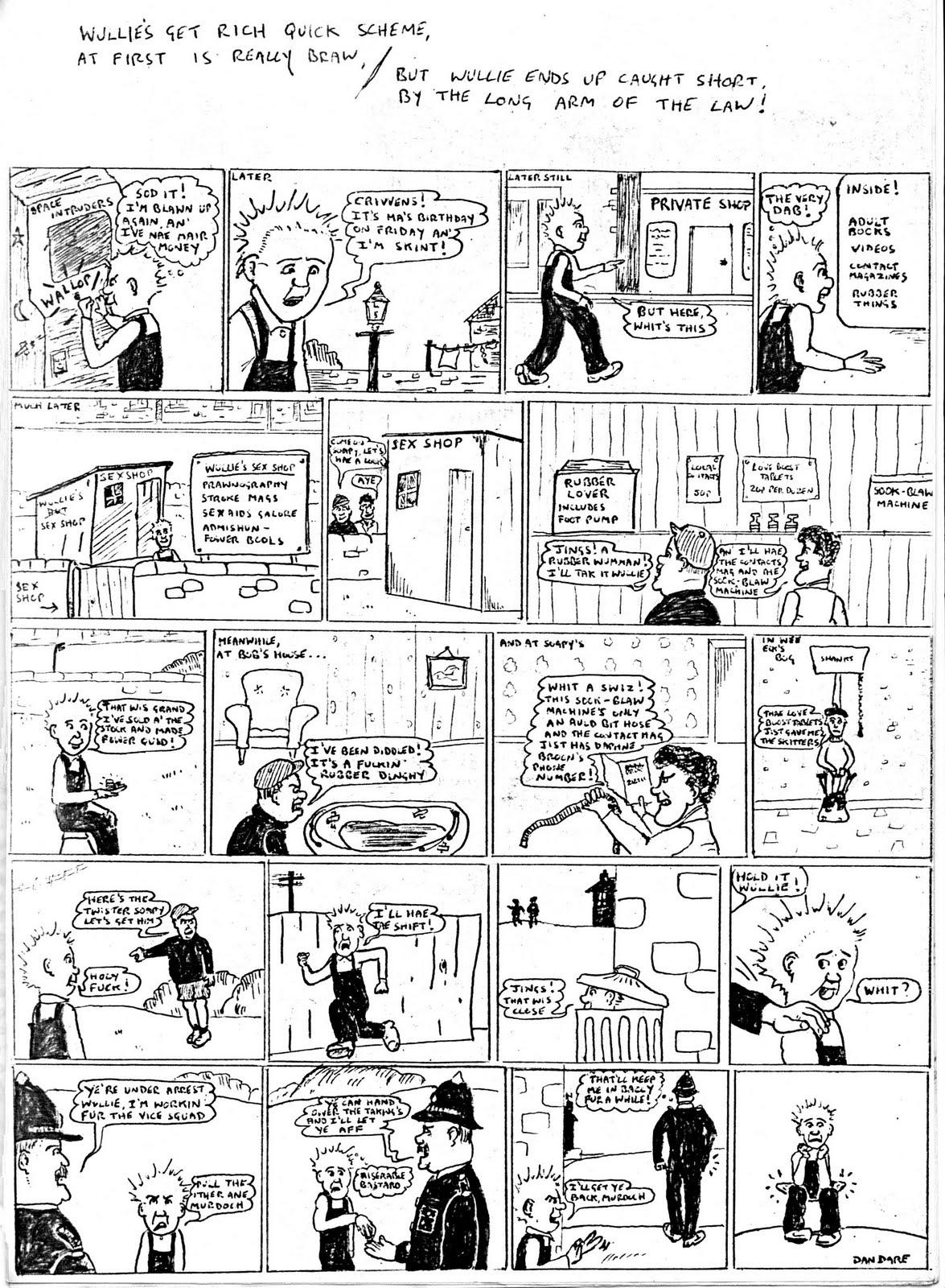 Retro Dundee Christmas Crackers Fanzine - 1980S-9712