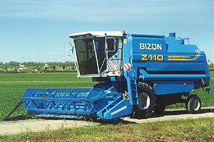Ciągniki i inne maszyny rolnicze: Kombajny