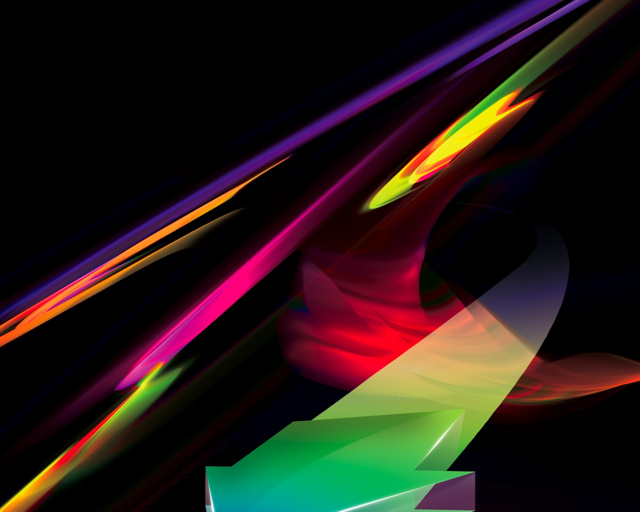 Razor Side By Side >> Wallpapers & Funny Videos: Rainbow abstract wallapaers 1600x1200