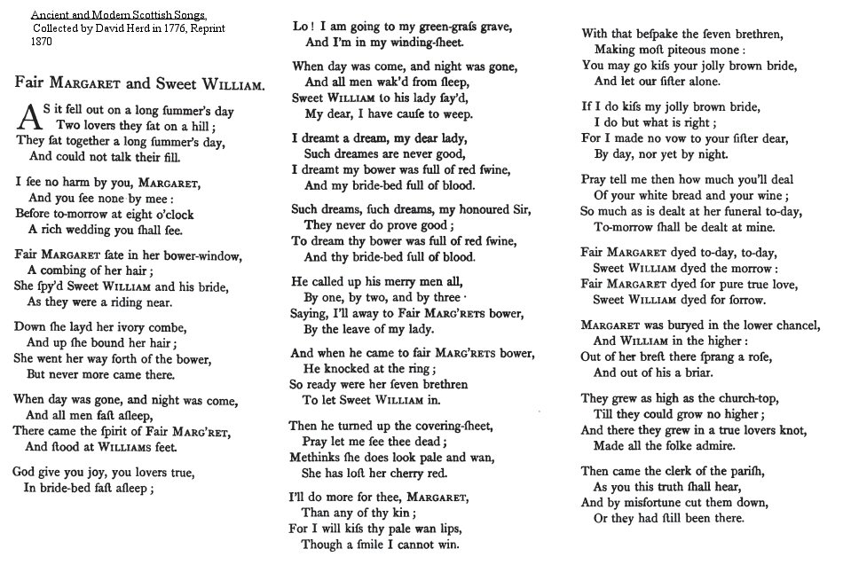 Lyric in sweet by and by lyrics : World Turn'd Upside Down: The Ballad of Lady Margaret and William ...