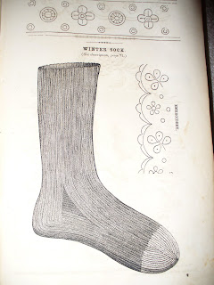 Civil War Reenactor Sock Pattern