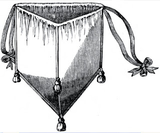 Civil War Reenactor Sewn Reticule