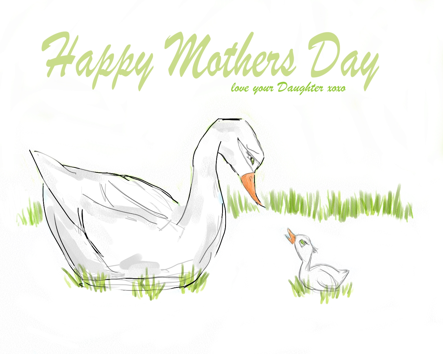 Drawing Mothers Day