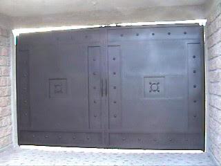 Herreria moderna for Puerta zaguan aluminio