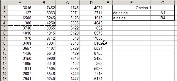 Área de impresión dinámica en Excel, con macros. ~ JLD