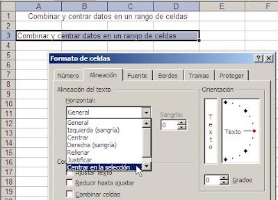 Buenas y malas prácticas en Excel – Combinar celdas. ~ JLD Excel en ...