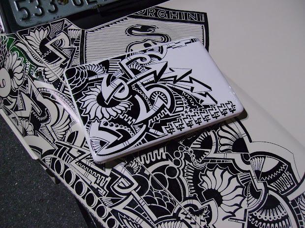 Laptop Sharpie Art