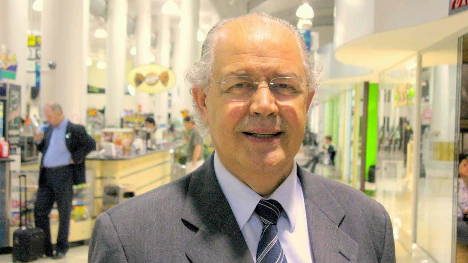 Secretário da Fazenda, Luiz Carlos Hauly, que ministrará palestra sobre os desafios da área econômica no Paraná