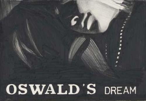 Marcel van Eeden  Oswald's Dream, 2007 nero pencil on paper 28 x 38 cm