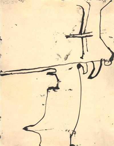 Richard Diebenkorn  Untitled (Albuquerque), 1950 Ink on paper 11 x 8 1/2 inch