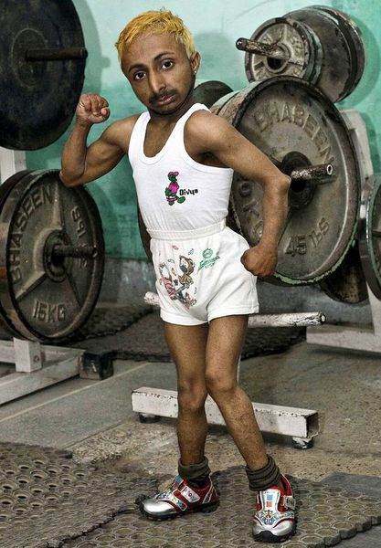 World's smallest bodybuilder from india