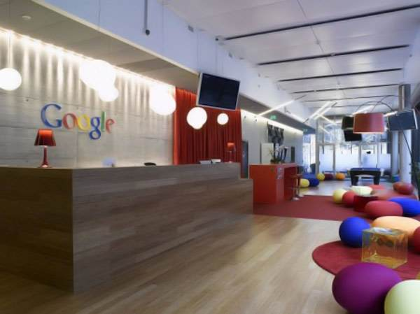 The new Google office in Zurich