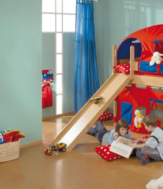 Cool Kids Room Ideas: House Ideas Decorations: Camas Para Niños Muy Divertidas
