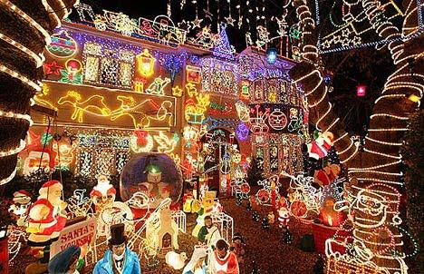 Fotos Casas Decoradas Navidad.Fachadas De Casas Decoradas Para Navidad Fachadas De Casas